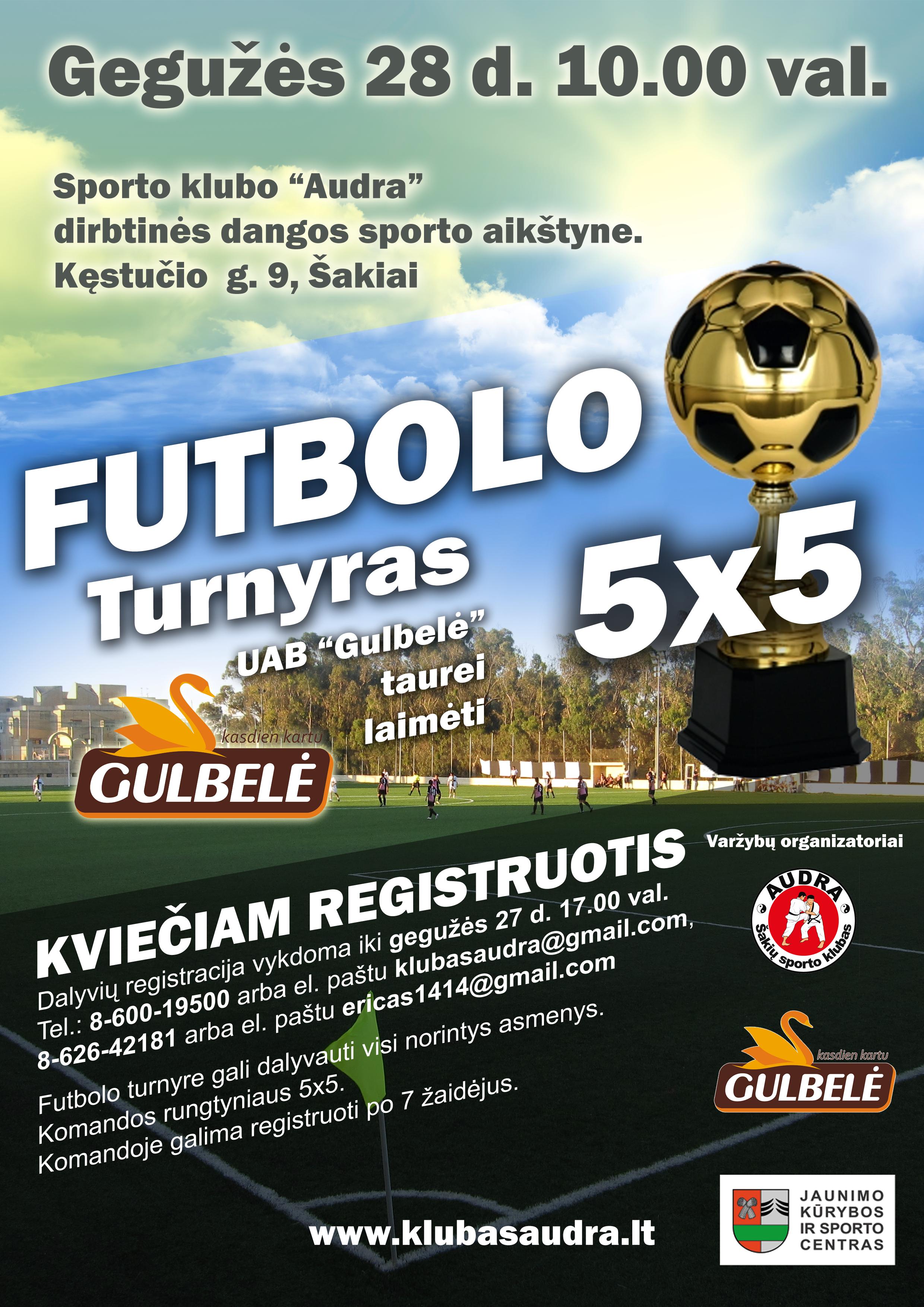 futbolo plakatas foto